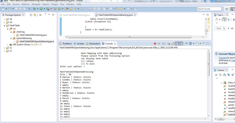 Assignment 6, CS3345 Solved